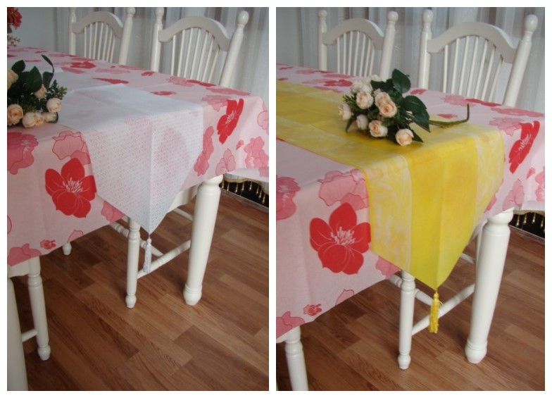 |table runner|non woven table runner|tablerunner|table cover|